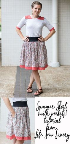 Have you been noticing the summer trend? I'm sharing sewing tutorials/patterns and ideas every Wed.. and I'm trying to go every other week with ME {women's} ideas and kids sewing projects. This week I've got a super simple summer skirt sewing tutorial for you. If you have a sewing machine collecting dust, this is the …