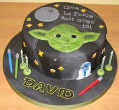 Star wars birthday cake - La Forge à Gâteaux