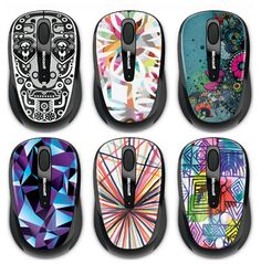 Get a mouse that shows off your own personal style (and one that  your roomate knows is yours!)