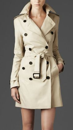 Can you tell I'm moving to Vancouver? Time to start thinking about a spectacular #Burberry #Trench #Coat