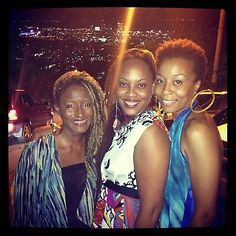 The crew for the night...love you #Tans and #Asha...#FunTimes...