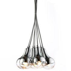 Hanglamp Mystico 7 lamps - furnies.nl