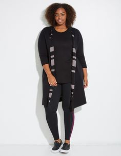 Reversible Active Open Sweater | Lane Bryant