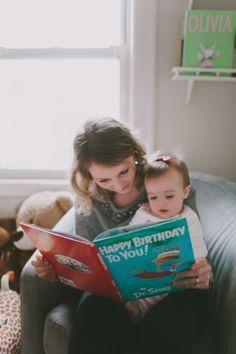 First birthday photo shoot / dr Seuss
