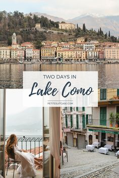 Two Days in Lake Como - Petite Suitcase