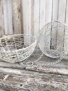 Small Hanging Basket, Distressed, Fruit Basket, Plant Holder, Farmhouse Hanging Basket, Gift for Mom, Yellow Kitchen by CamillaCotton on Etsy https://www.etsy.com/listing/224262792/small-hanging-basket-distressed-fruit