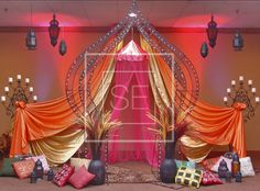 Moroccan Stage #1 | Sensational Experience Events