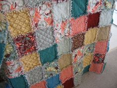 Flannel Rag Quilt.... making now.