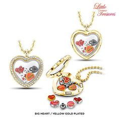 Little Treasures Reversible 10-Charm Mix & Match Austrian Crystal Necklace or Bracelet - Assorted Styles at 90% Savings off Retail!
