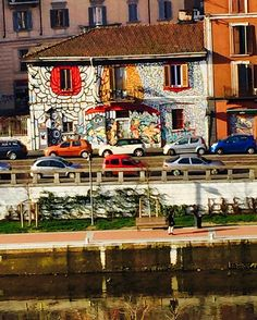 #milano #goodmorning #sun #artwork #street_art #artonthewall #ilovemilano #igermilano #igerlombardia #abeautifulday #abeautifulplace #milanodavedere by mariylips