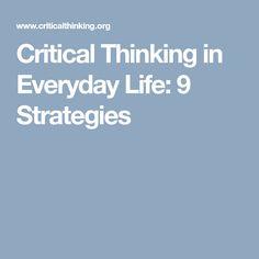critical thinking mc205