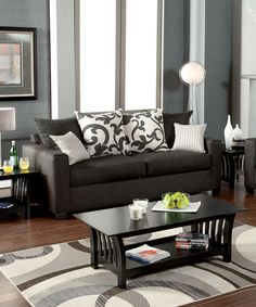 Charcoal Gray Berth Sofa