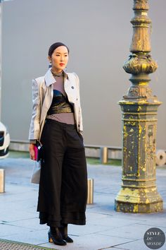 Chriselle Lim Street Style Street Fashion Streetsnaps by STYLEDUMONDE Street Style Fashion Photography