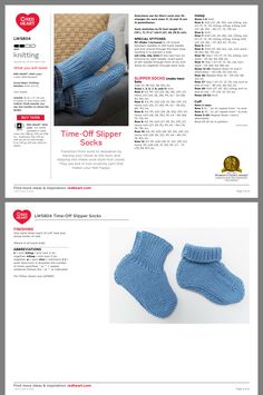 Knitted Socks Free Pattern, Baby Booties Knitting Pattern, Sweater Knitting Patterns, Easy Knitting, Knitting Socks, Knitting Stitches, Knit Socks, Knit Patterns, Crochet Sandals