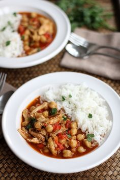 Lebanese Chickpea Stew from Inquiring Chef