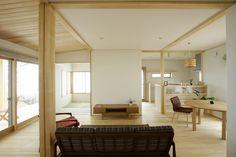 海を眺める高台の家/新潟で建てる 木の家専門店 ナレッジライフ