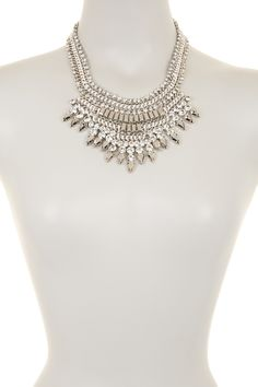 2cd407bf1358 Natasha Accessories - Drama Statement Bib Necklace at Nordstrom Rack. Free  Shipping on orders over
