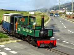 Miles Etherton - Google+ - Fairbourne's N gauge railway in Barmouth, North Wales