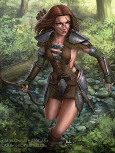 Aela the Huntress - Skyrim | Sciamano240 on DeviantArt