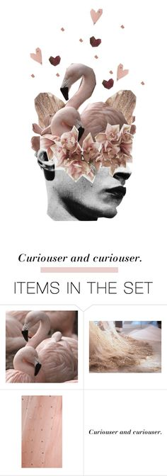 """""""Curiouser and curiouser"""" by jessicamaire ❤ liked on Polyvore featuring art"""