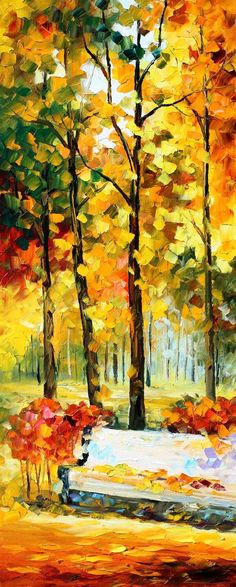 THE WIND OF DREAMS 3 - PALETTE KNIFE Oil Painting On Canvas By Leonid Afremov