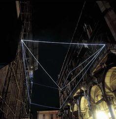 Carlo Bernardinicreates fiber optics installations. Bernardini uses the fiber optic since 1996, to transform dark spaces into abstract ligh...