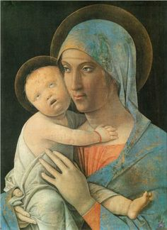 Virgin and Child - Andrea Mantegna Start Date: 1480  Completion Date:1495  Style: High Renaissance  Genre: religious painting