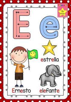 Alphabet Charts, Chore Chart Kids, Teacher Supplies, School Worksheets, Spanish Worksheets, First Grade Math, Math For Kids, Head Start, Kids Education
