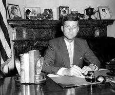 14 Photos Of President John F Kennedy In His Senate Office