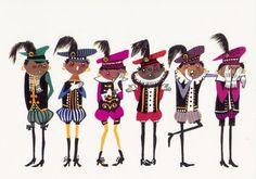 Fiep Westendorp - Zwarte Pietjes