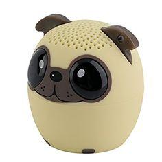 Tsing Bluetooth Enceinte portable sans fil Haut-parleur Audio Enceinte sous la Forme d'Animal 4 Heures à jouer parfaitement pour les sports en d'hors (Chien)