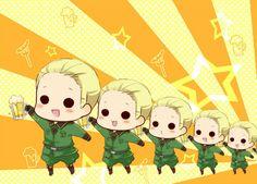 Ludwig so cute. Hetalia Funny, Hetalia Fanart, Hetalia Chibi, Hetalia The Beautiful World, Hetalia Germany, Hetalia Axis Powers, Me Me Me Anime, Manga Anime, Fangirl