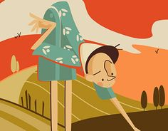 """Check out new work on my @Behance portfolio: """"Le Avventure di Pinocchio"""" http://be.net/gallery/43505355/Le-Avventure-di-Pinocchio"""