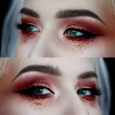 "1,668 Likes, 22 Comments - Elina Liljeholm (@creationsbyelina) on Instagram: "" Using @anastasiabeverlyhillsSubculture palette, Modern Renaissance and Matte lipstick - Ruby…"""