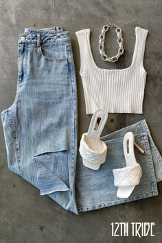 Casual Summer Outfits, Spring Outfits, Trendy Outfits, Cute Outfits, Fashion Outfits, Layered Summer Outfits, Anna, Yoga Photography, Look Chic