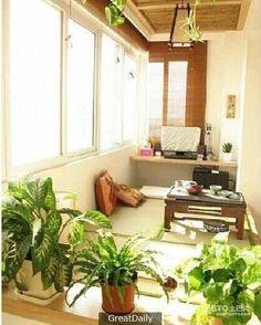 原來陽台也可以設計的如此美麗,你家也可以!