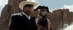 #TheLoneRanger Johnny Depp Armie Hammer Foto Dal Film 01