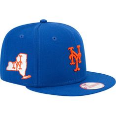 dbfac163c5e Men s New York Mets New Era Royal State Clip Snapback 9FIFTY Hat