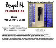 """""""Clica y Gana""""  Un fantástico Cepillo Sassoon Ceramic Brush"""