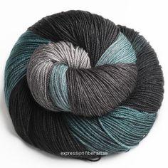 Expression Fiber Arts - MALLARD MERINO YAK SILK SOCK YARN, $32.00 (http://www.expressionfiberarts.com/products/mallard-merino-yak-silk-sock-yarn.html)