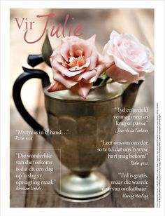 Winter, tyd/time, sagte pienk rose/soft pink roses. Foto: Candice Askham www.leef.co.za Psalm 40, Afrikaanse Quotes, July Born, Addiction Recovery, Wisdom Quotes, Coffee Shop, Favorite Quotes, Motivational Quotes, Faith