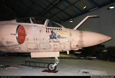 Royal Air Force Buccaneer photo taken by sunshine band - Preserved in the museum. Ww2 Aircraft, Military Aircraft, Blackburn Buccaneer, South African Air Force, Military Weapons, Royal Air Force, Nose Art, Aviation Art, Air Show