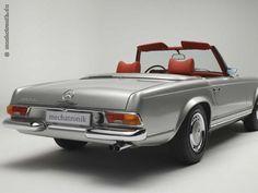 1968 Mercedes Benz 280 SL silber - Vollrestauriert