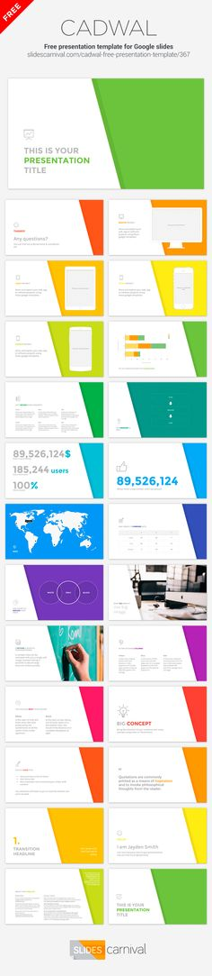 PowerpointKeynote Presentation Template  List Of Free Powerpoint