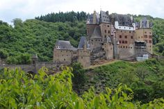 Burg Eltz is a privately owned castle in Germany. It's open for tours and the family still lives there generations later.