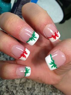 Latest Christmas nail art designs and trends of year Santa Holiday nail art,Christmas tree nail art,ornaments,candycane,snowflake nails Cute Christmas Nails, Xmas Nails, Diy Nails, Christmas Bows, Christmas Ideas, French Christmas, Halloween Nails, Beautiful Christmas, Simple Christmas