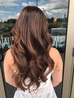 Hazelnut mocha hair color