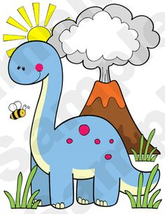 Dinosaur Childrens Nursery Wall Stickers.