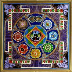 KUNDALINI-YANTRA  Energetische Kunst von von EnergetischeKunst