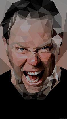 freeios8.com - he24-james-hetfield-music-metallica-bw - http://bit.ly/1EkczIu - iPhone, iPad, iOS8, Parallax wallpapers